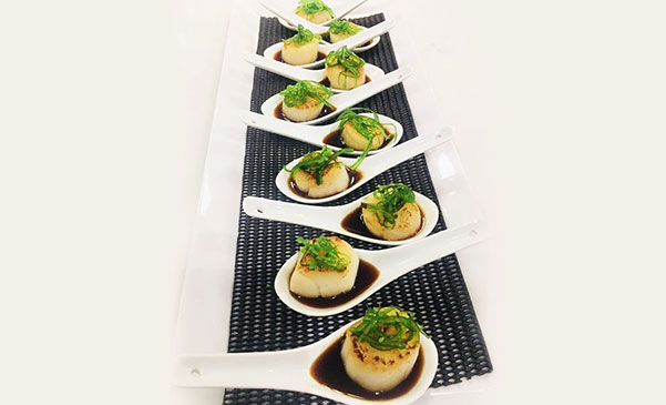 seafood catering menu